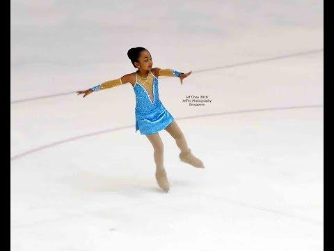 Singapore National fig Skating 2018 Indonesia Shafira Cut Kinanti Putri by Jeffini Photography