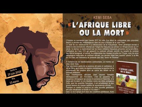 Kémi Séba présente son nouveau livre  L'Afrique libre ou la mort  aux lecteurs de SeneNews