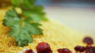 Пшённая каша  томлёная с травами, грибами и зелёной фасолью