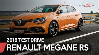 2018 Renault Megane RS   TEST Drive eblogAUTO