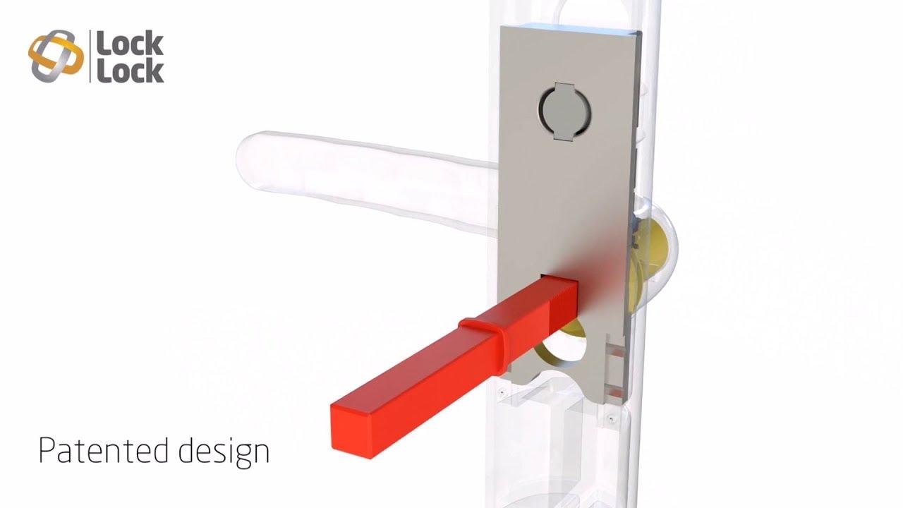 How The Lock Lock Door Handle Works