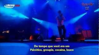 System Of A Down - Pyscho live Rock in Rio [Legendado-BR/HD Quality]