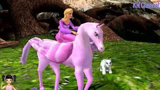 Thơ Nguyễn chơi game cuộc giải cứu thế giới của Barbie và ngựa pony tập 1