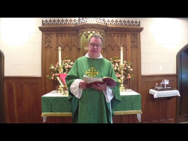 The Eighteenth Sunday after Pentecost 10.4.20