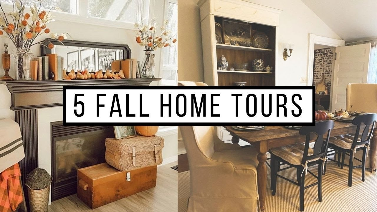 5 Thrifty Antique Farmhouse Fall Home Tours 2020