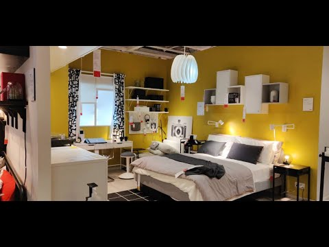 Bedroom Makeover Ikea Tour India Small Indian Decorating Ideas Youtube