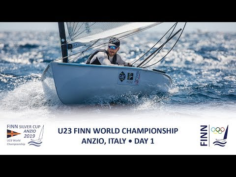 Highlights from Day 1 at the 2019 Finn Silver Cup in Anzio