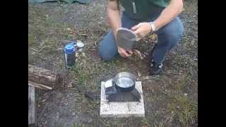 Folding Wood Burning Stove- Repost