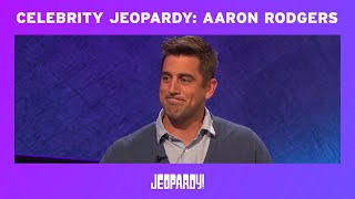 Aaron Rodgers Wins 2015 'Celebrity Jeopardy!' Tournament | JEOPARDY!