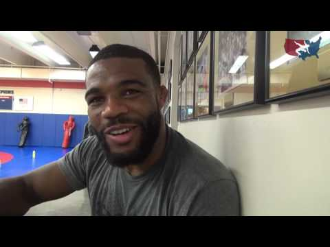 Jordan Burroughs back on the mat for first time since Rio Olympics
