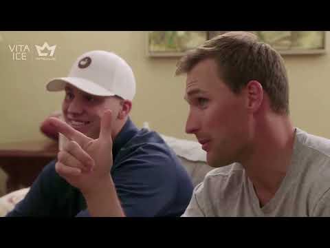 Kirk Cousins w/Josh Allen   The Wake Up Call
