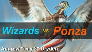 "UR Wizards vs RG Ponza Pt.4 Modern MTG Gameplay September 2018 (Andrew ""Day 2"" Dryden)"