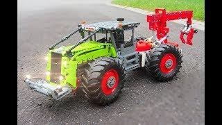 Lego Technic Forest Skidder | 42054 C model