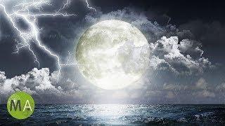 8-Hour Sleep Music, Ambient Thunderstorm, 3D Rocking Effect, Calming Sleep Meditation Music, ☾1001