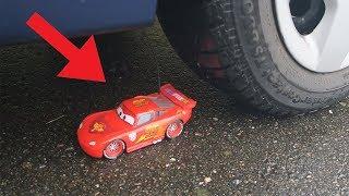 Lightning McQueen Disney Cars 3 toy vs Car