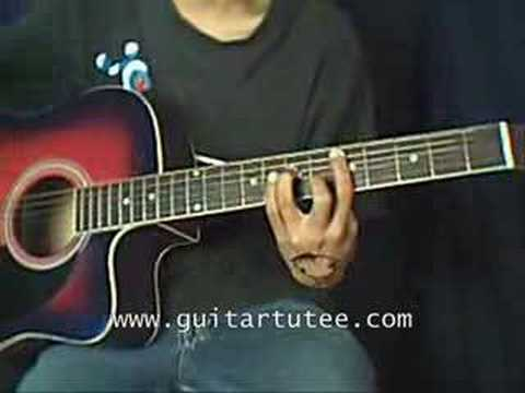 Sunday Morning Of Maroon 5 By Guitartutee Youtube