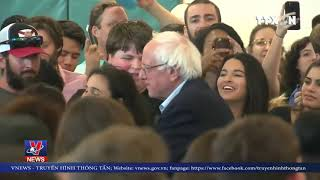 """Mỹ: Thượng nghị sĩ Sanders trở lại """"đường đua"""" tổng thống"""