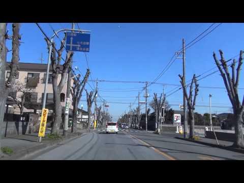 [drive japan]千葉県野田市内の風景(chiba prefecture central noda)