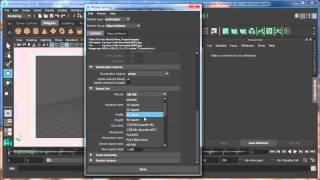 Export Image Sequence in Maya Tutorial