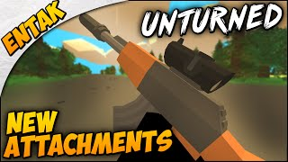 Unturned 3.0 Update ➤ New Attachments, New Sights & More!