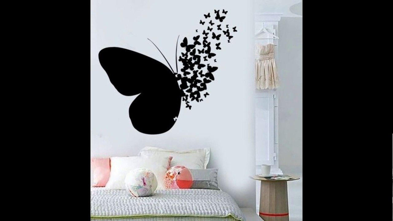 Vinilos decorativos para paredes youtube for Pegatinas de pared ikea