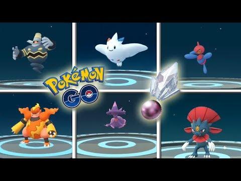 ¡TODAS las EVOLUCIONES con PIEDRA SINNOH en Pokémon GO! [Keibron] thumbnail