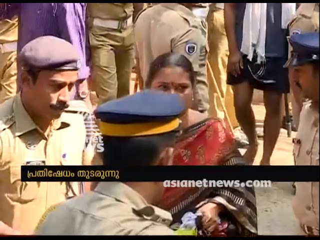 4 migrant women attempted to enter Sabarimala, returned