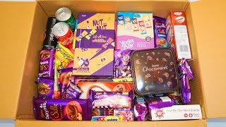 Look Inside! My New Big Box Of Candies,chocolates,Snacks