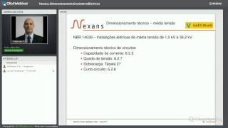Webinar - Dimensionamento de condutores elétricos