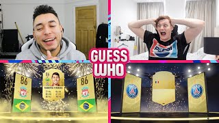 THE FUNNIEST EPISODE YET 😂 GUESS WHO FIFA vs CapGunTom (GUESS WHO PACKS) thumbnail