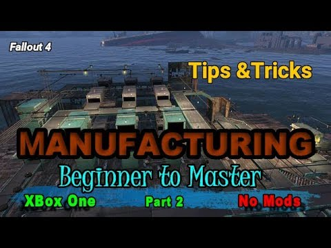 Fallout 4 Manufacturing Tips and Tricks part 2