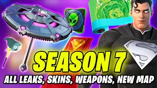 Fortnite SEASON 7 - ALL New Skins & Styles, Weapons, Backblings, NEW MAP, Lobby IN-GAME & MORE LEAKS