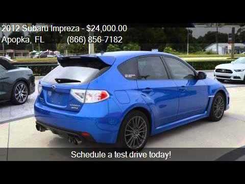 2012 Subaru Impreza Wrx Awd 4dr Wagon For Sale In Apopka Fl Youtube