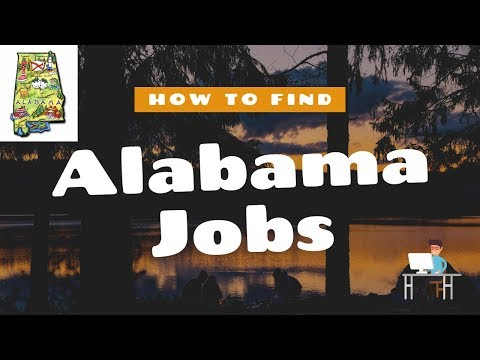 How To FIND A JOB In ALABAMA |  10 Job Resources You've Been Overlooking