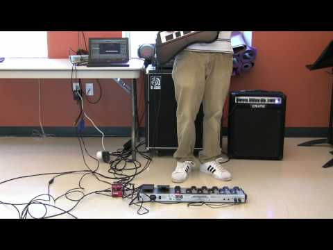 Duality Guitars Keyboard, Foot Pedal, and Strap Demonstration