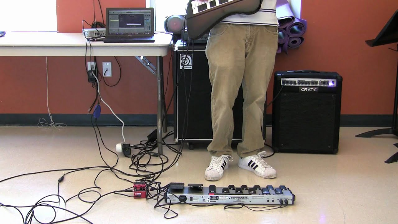duality guitars keyboard foot pedal and strap demonstration youtube. Black Bedroom Furniture Sets. Home Design Ideas