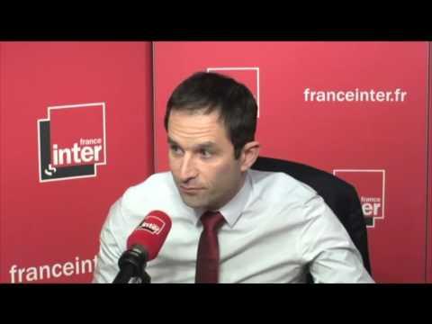 Benoit Hamon sur france inter - 23 Janvier 2017