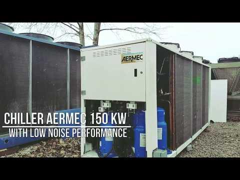 Чиллер Aermec 150 кВт / The Chiller Aermec 150 KW