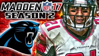 Madden 17 Franchise Mode Year 2 Week 6 - Atlanta Falcons vs Carolina Panthers