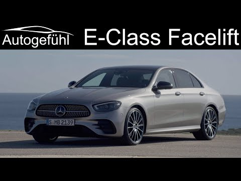 New Mercedes E-Class 2020 Facelift Unveiled Sedan Limousine Vs All-Terrain Estate Exterior Interior
