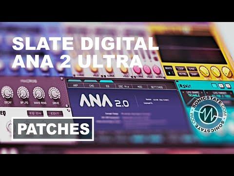 Slate Digital ANA2 Ultra Bundle Patch Flip