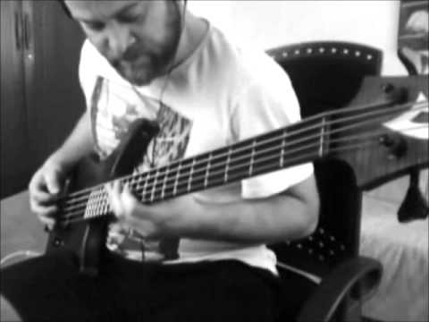 Lethargica (Live From Alive) | Meshuggah Bass Cover