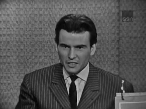 What's My Line? - Horst Buchholz; Buddy Hackett [panel]; Martin Gabel [panel] (Feb 18, 1962)
