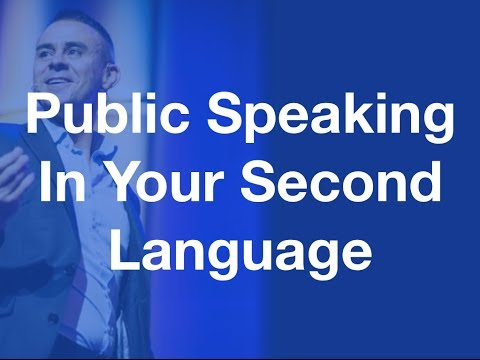 How Challenging Is Public Speaking In Your Second Language?