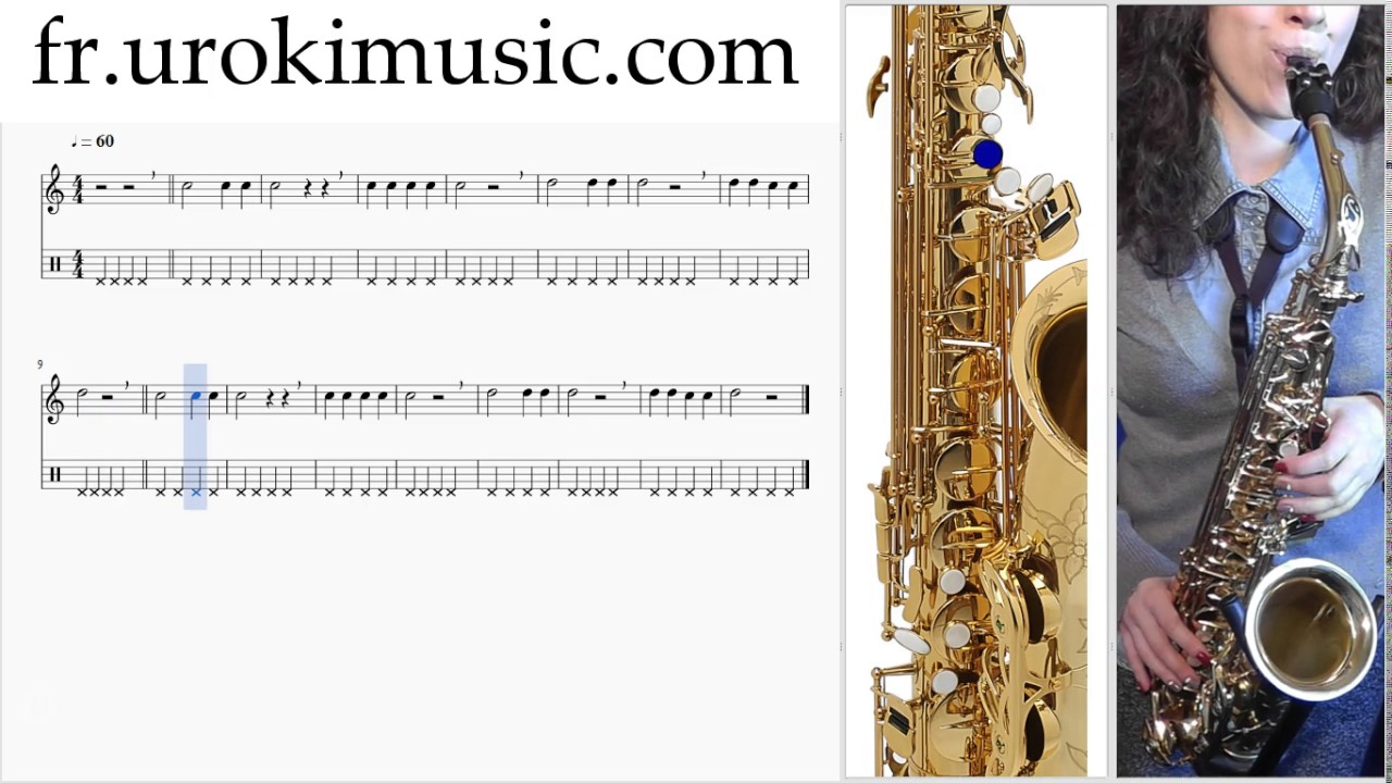 cours de saxophone alto c 1 s 2 l 3 partitions m lodie hansons tuto comment jouer tab tablature. Black Bedroom Furniture Sets. Home Design Ideas