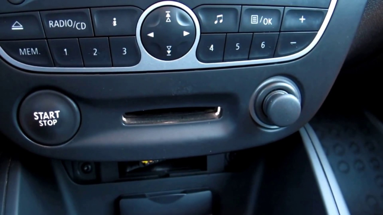 Renault key card reader field detector