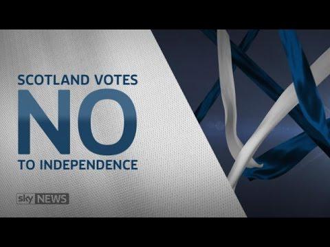 WATCH LIVE: Decision Time For Scotland, Scot Rejects Independence Stay Within U.K.
