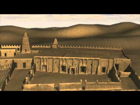 3D Animation of the Djenne Mosque and Timbuktu Mosque in Mail documented by the Zamani Project