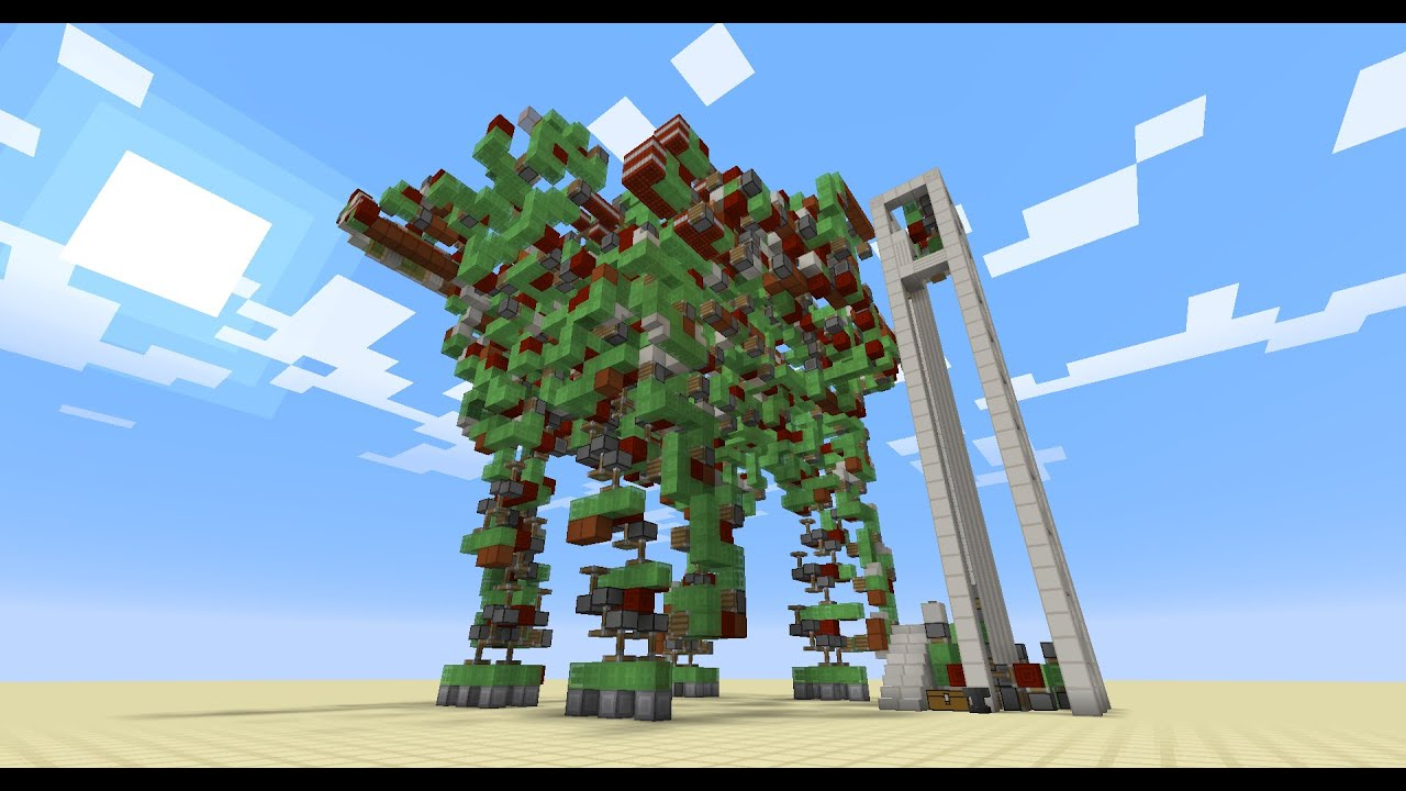 How To Build A Mega Cannon In Minecraft