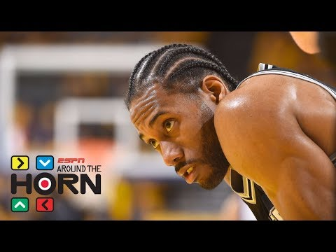 How much concern should Spurs have over Kawhi Leonard's injury? | Around The Horn | ESPN